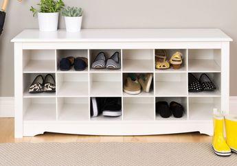 Agar Koleksi Sepatu Tetap Awet, Simak 4 Tips Ini Saat Bikin Rak Sepatu