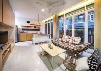 Inspirasi Desain Rumah di Lahan 90 m2, Lokasinya di Pusat Kota Jakarta