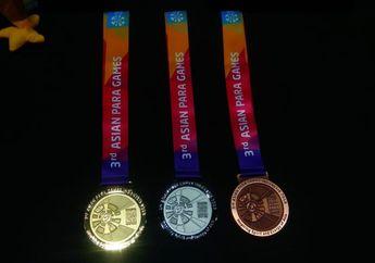 Pertama Kali Nih! Medali Asian Para Games 2018 Punya Bunyi Gemerincing