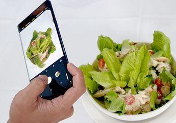 Intellegent Camera Samsung Galaxy Note9, Motret Makanan Awas Ngiler