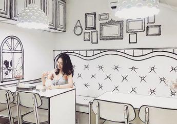 Kafe Yeonnam-dong, Miliki Konsep Dua Dimensi yang Instagramable Banget