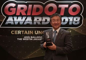 GridOto Award 2018, Banyak Gebrakan Bos Yamaha Jadi Man of The Year