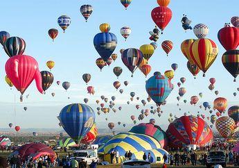 Setiap Oktober Ada Festival Balon Terbang Albuquerque yang Meriah