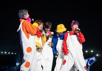 Gelar Konser Pertama Setelah 17 Tahun, H.O.T. Ucapkan Terima Kasih pada Fans