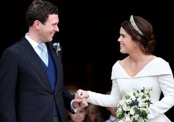Intip 4 Foto Resmi Pernikahan Princess Eugenie dengan Jack Brooksbank!