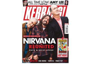 Setelah Reuni, Kini Nirvana Muncul di Sampul Majalah Kerrang