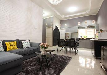 Inspirasi Desain Interior Nuansa Abu-abu di Rumah @abimanyurarasati, Tak Mudah Kotor