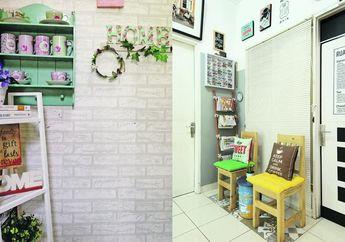 Ide Renovasi Dinding Bermodal Rp 50 Ribu, Dinding Cantik Dalam Sekejap