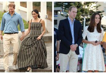 Busana yang Digunakan Meghan Markle Vs Kate Middleton Saat Berada di Pantai, Mana yang Paling Favorit?