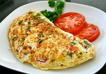 Omlet Cabai Hijau, Sarapan yang Bikin Kamu Jadi Semangat!
