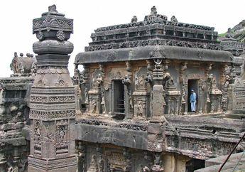 Kuil Kailasa, Dibangun dengan Cara Memahat Bukit Selama Puluhan Tahun