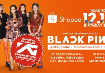 Rayakan Ulang Tahun Ke-3, Shopee Undang BLACKPINK ke Indonesia