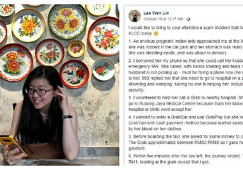 Bantu Ibu Hamil, Wanita di Malaysia Ini Diduga Malah Jadi Korban Penipuan