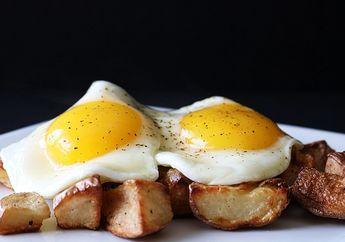 Putih Telur dan Kuning Telur, Mana yang Paling Banyak Mengandung Protein?