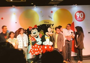 Rayakan Ultah Mickey Mouse ke 90, Disney Indonesia Bakal Rilis Banyak Produk Spesial