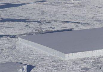 Terlangka, NASA Temukan Gunung Es Persegi Sempurna di Antartika!