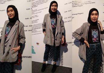 Stylo Of The Day, Edgy Jeans ala Lilis Erawati di Jakarta Fashion Week 2019