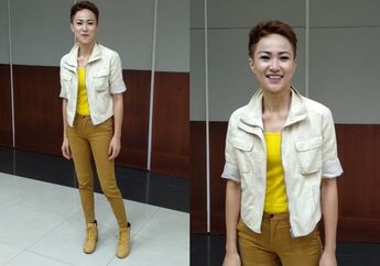 Stylo of The Day, Tampil Sporty Pakai Warna Cerah ala Fristian Griec