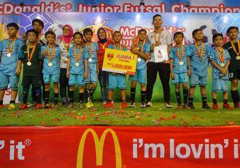 SD Al-Jannah Berhasil Menjuarai Babak Penyisihan McDonald's Junior Futsal Championship 2018 Wilayah Timur