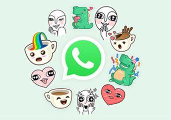 Wow! Kini Wajah Kita Bisa Jadi Stiker di WhatsApp loh, Begini Caranya!