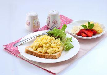 Resep Tabloid NOVA : Bikin Sarapan Berbahan Telur Cukup 5 Menit Aja yuk!