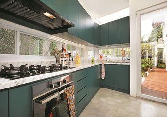 Terinspirasi Alam, Intip Uniknya Desain Dapur di Lahan Asimetris Ini!