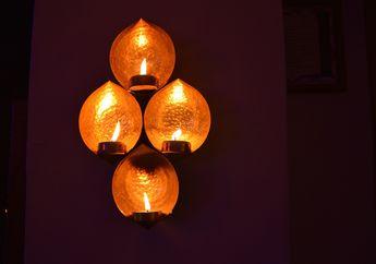 300 Ribu Cahaya Lampu Menerangi India Saat Festival Diwali, Keren!