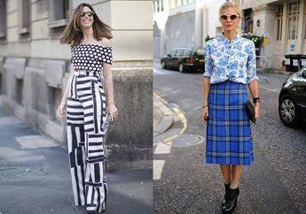 Trik Padu Padan Pattern on Pattern dari Fashion Stylist Langganan Artis Alva Susilo