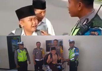 Viral Nangis Pas Ditilang, Bocah SMP di Lombok Dapat Hadiah Sepeda dari Polisi