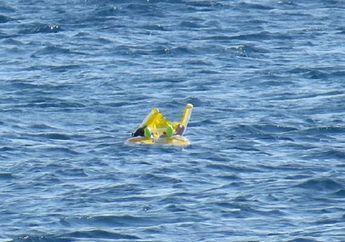 Disangka Boneka, Seorang Nelayan Terkejut Saat Selamtkan Seorang Bayi di Tengah Laut