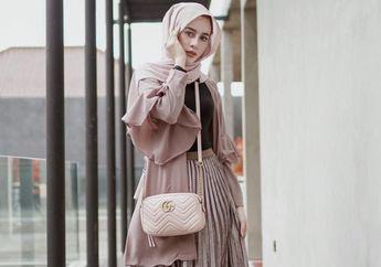 5 Gaya OOTD Hijab Simpel dengan Rok Kekinian ala Selebgram Hijabers