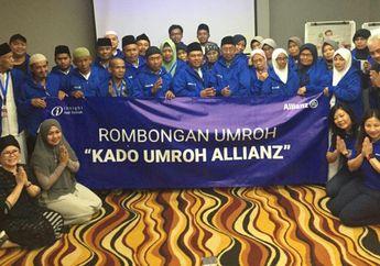 Lewat Kado Umroh Allianz, Allianz Life Indonesia Berangkatkan Umroh 25 Sosok Inspiratif, dari Marbot Masjid Hingga Tukang Kerak Telur