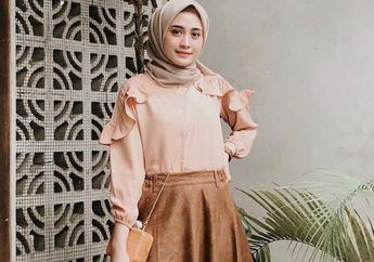 Rekomendasi Rok Suede untuk Sempurnakan Gaya Hijab Kekinian