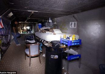 Dibalik Megahnya Kota Las Vegas, Ada 1.000 Orang Hidup di Terowongan Bawah Tanah dan Gorong-gorong