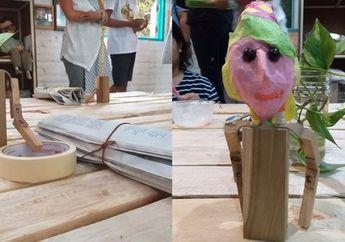 Belajar Membuat Boneka dari Kertas Koran di Papermoon Puppet Theatre
