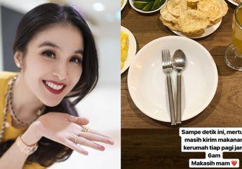 Tiap Pagi Selalu Dikirim oleh Ibu Mertua, Intip Deretan Menu Makanan Sandra Dewi yang Menggugah Selera!