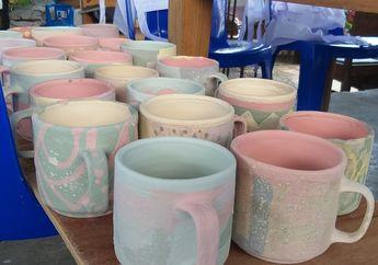 Serunya Pengalaman Melukis Cangkir Desain Sendiri di Kaloka Pottery