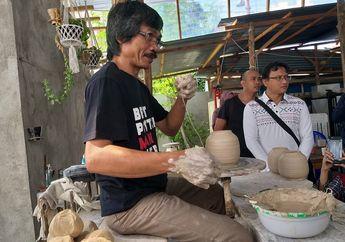 Sempat Pesimis Berkembang, Bisnis Keramik Kaloka Pottery Akhirnya Dilirik Mancanegara