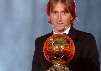 Luka Modric Raih Ballon d'Or 2018, Anak Pengungsi di Zona Perang Itu Kini Jadi Pesepak Bola Terbaik di Muka Bumi