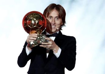 Luka Modric Raih Ballon d'Or 2018: Dulu Jadi 'Transfer Terburuk' Real Madrid, Kini Jadi Pesepak Bola Terbaik Dunia