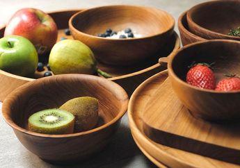 Makin Alami dengan Peralatan Makan dari Kayu, Ini Tips Merawatnya!
