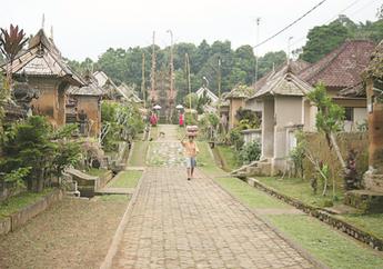 Ada Larangan Berpoligami, Inilah Arsitektur Rumah Bali di Desa Terbersih di Dunia