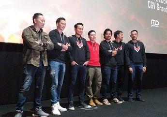Demi Adegan Fighting, Para Pemain Film Foxtrot Six Dilatih Uwais Team