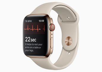 Update watchOS 5.1.2 Bawa Fitur Rekam Detak Jantung di Apple Watch Series 4