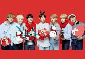 Natal 2018 : Inilah 6 Lagu KPop Bertema Natal yang Dinyanyikan BTS hingga Twice, Wajib Masuk Playlist nih!