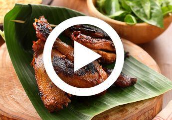 (Video) Resep Masak Ayam Bakar Mentega yang Enaknya Sampai Ke Tulang