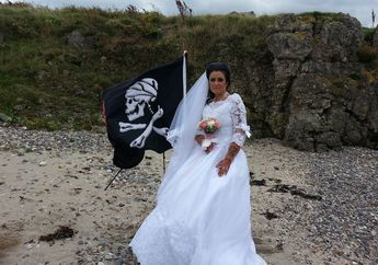 Pengakuan Amanda, Wanita yang Mengaku Menikahi'Hantu Bajak Laut' Berusia 300 Tahun