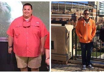 Pria Ini Berhasil Turunkan Berat Badan Sebanyak 81 Kg dengan Cara Mengubah Pola Makan