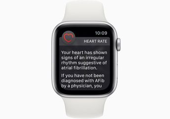 Baru Dua Hari Pakai Apple Watch, Pria ini Selamat dari Penyumbatan Arteri