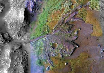Mengenal Kawah Jezero, Lokasi Pilihan untuk Mendarat di Mars Pada 2021